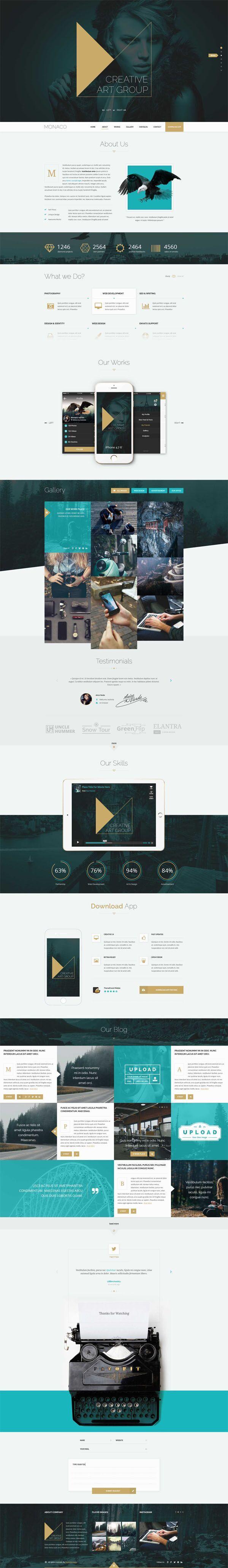 Monaco-Creative-HTML5-Bootstrap-Template
