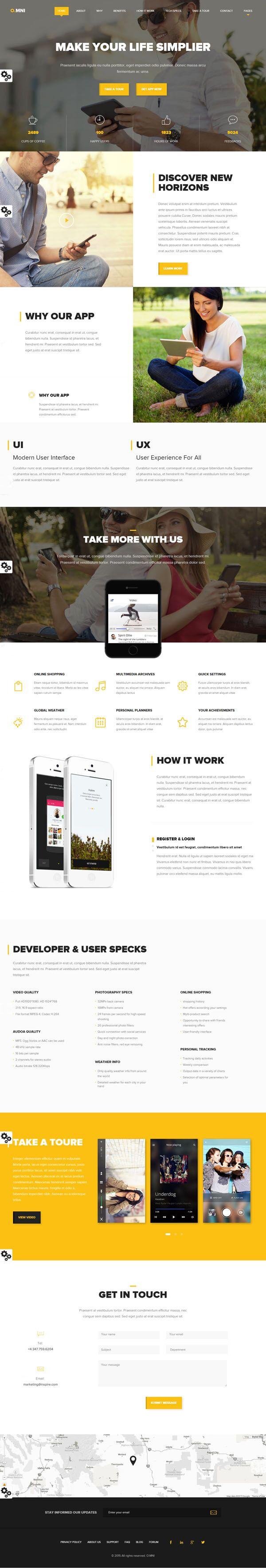 Omni-Modern-HTML-App-Template