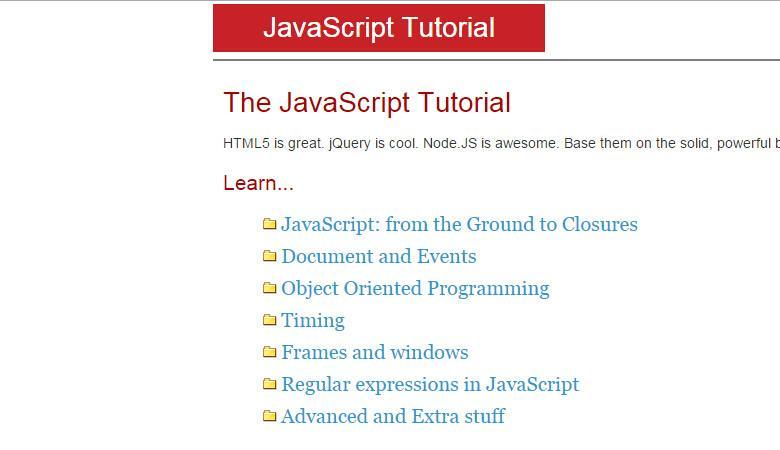 javascript-tutorial