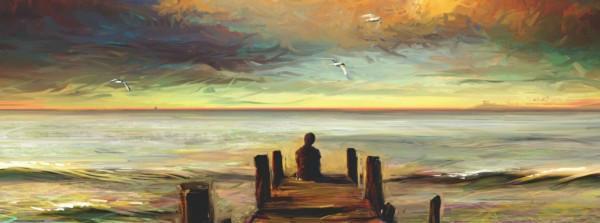 sea-sky-person