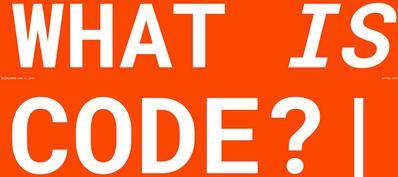what-is-code