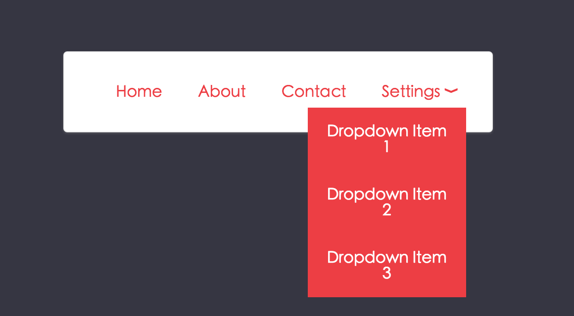 css-dropdown-menu