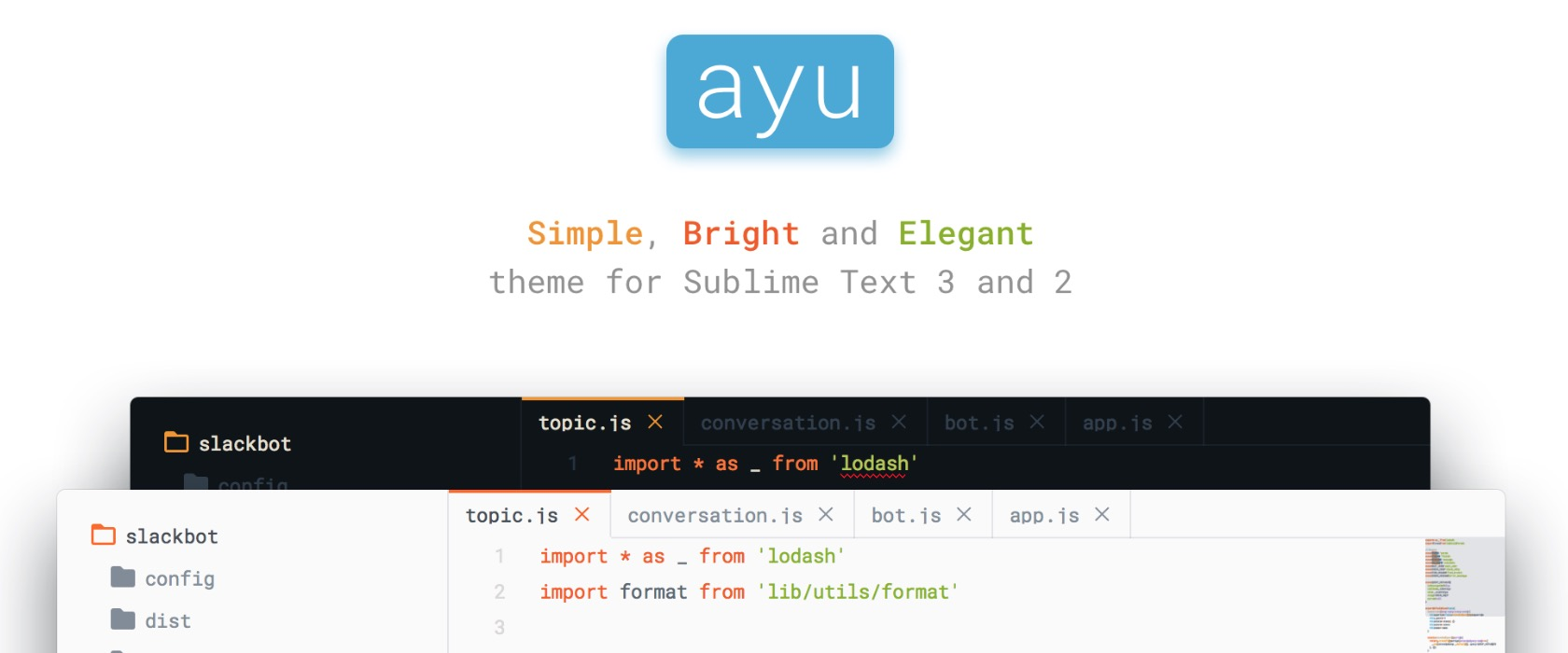 sublime-text-theme-ayu